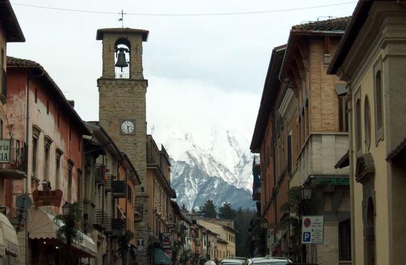 Amatrice, Italy. (photo credit: Wikimedia Commons)