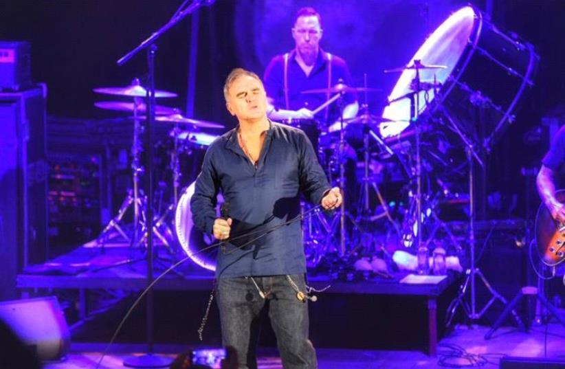 Morrissey concert in Tel Aviv. (photo credit: LIOR KETER)