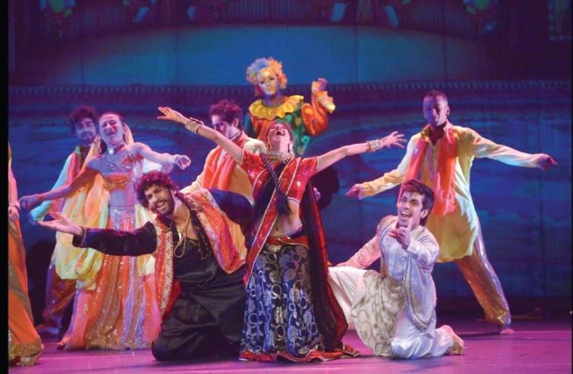 The Navdhara Dance Theater (photo credit: YOSSI ZWECKER)