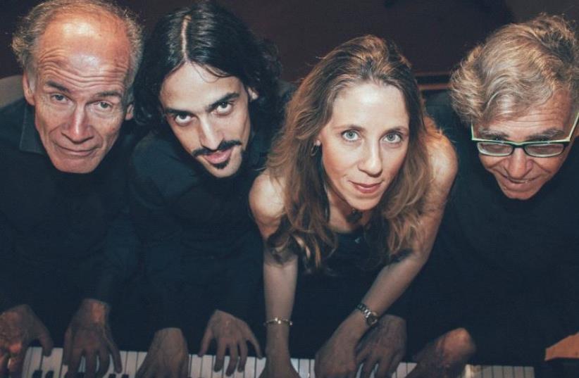 The Octopus Quartet (photo credit: ILAN SHAPIRA)