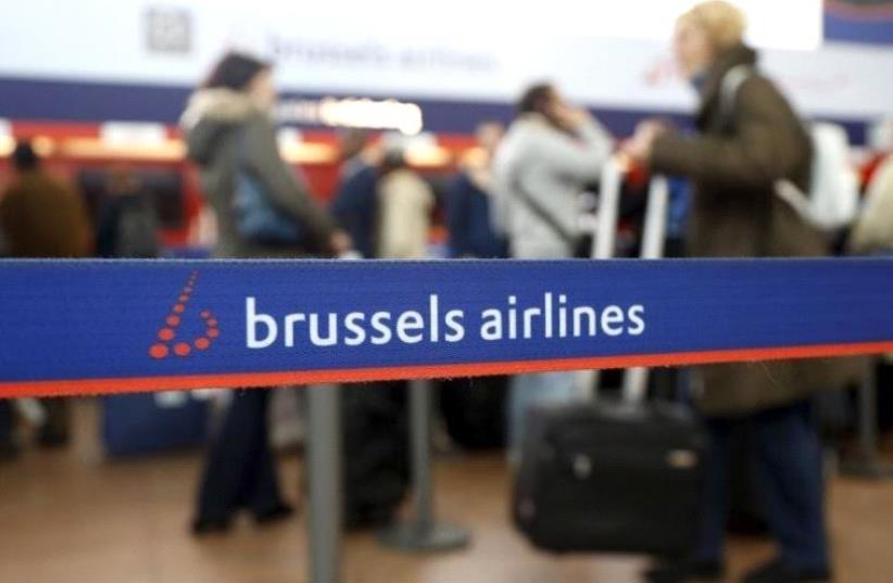 Brussels Airlines (photo credit: REUTERS)