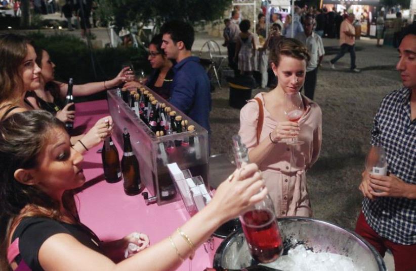 The Jerusalem Wine Festival (photo credit: MARC ISRAEL SELLEM)