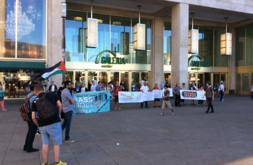 BDS activists in Berlin. (photo credit: ACTION FORUM)
