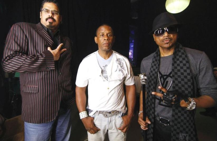 IT'S A rap: From left; Wonder Mike, Master Gee and the late Big Hank Hank of The Sugarhill Gang. (photo credit: ANDREY MOTORICHEV)