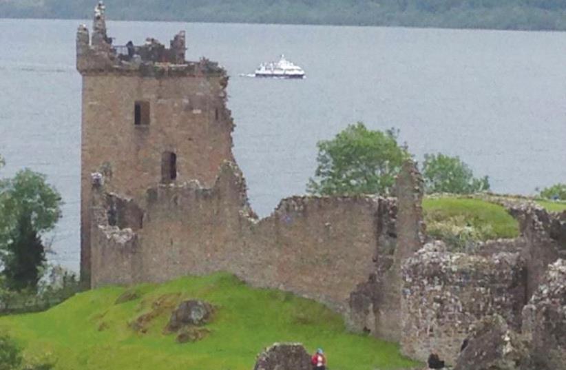 URQHART CASTLE on Loch Ness (photo credit: SUSIE WEISS)