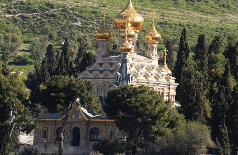 The Church of Mary Magdalene in the Old City (photo credit: MARC ISRAEL SELLEM)