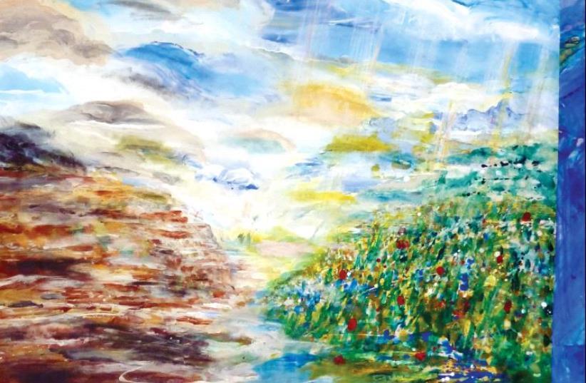 Painting by Yoram Raanan (photo credit: YORAM RAANAN)