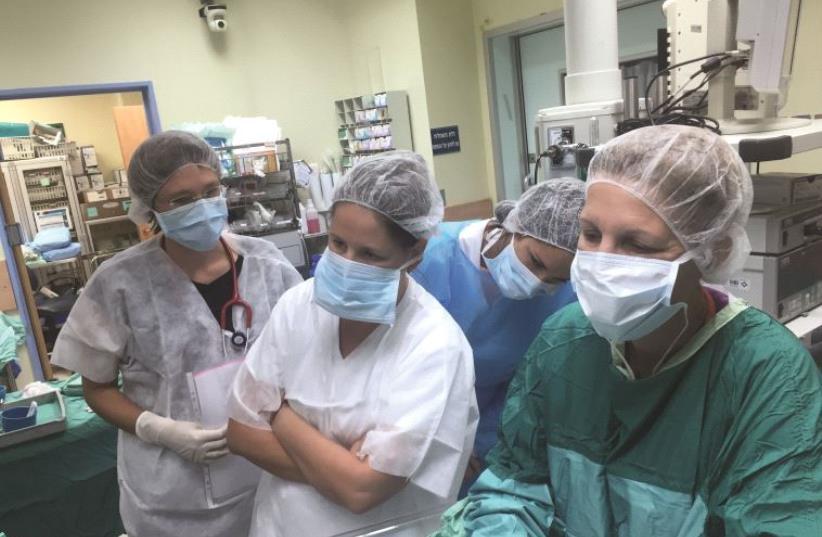 Une équipe médicale du centre Kaplan (photo credit: DR)