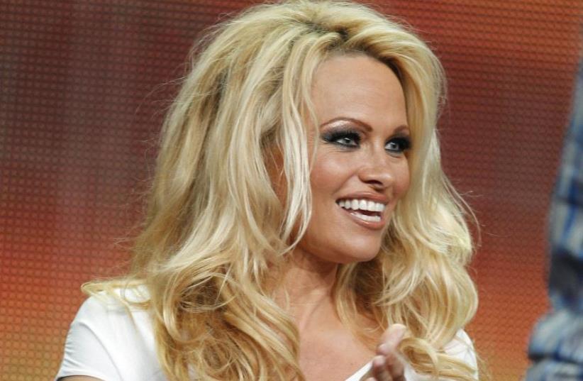 Pamela Anderson (photo credit: REUTERS)