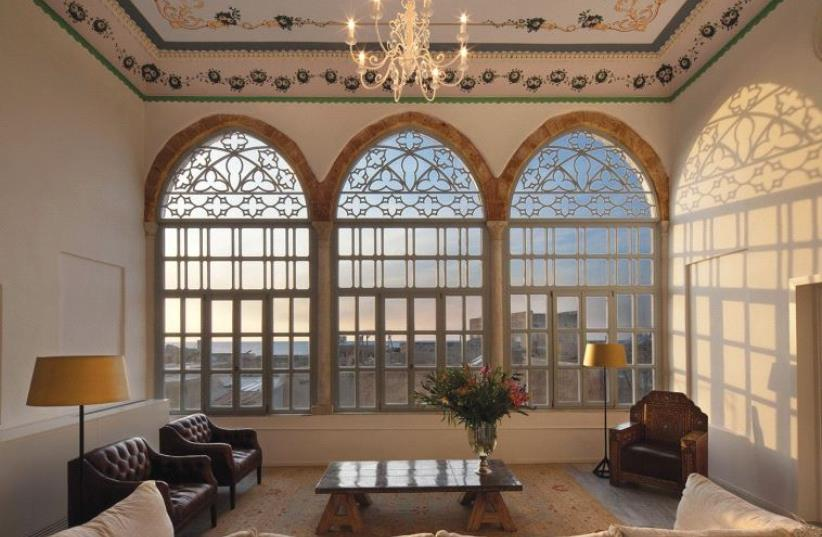 FIT FOR royalty: One of the lavishly furnished common areas at the Efendi Hotel. (photo credit: Courtesy)