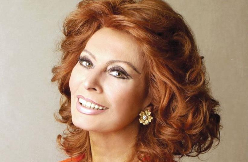 Sophia Loren (photo credit: SCOTT STANDER GROUP)