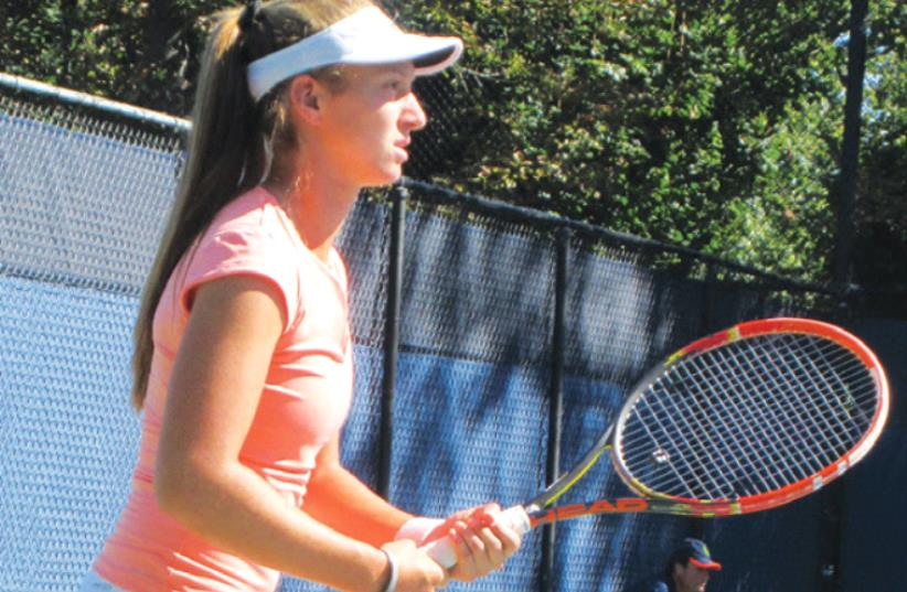 Tennis player Shelly Krolitzky (photo credit: HOWARD BLAS)