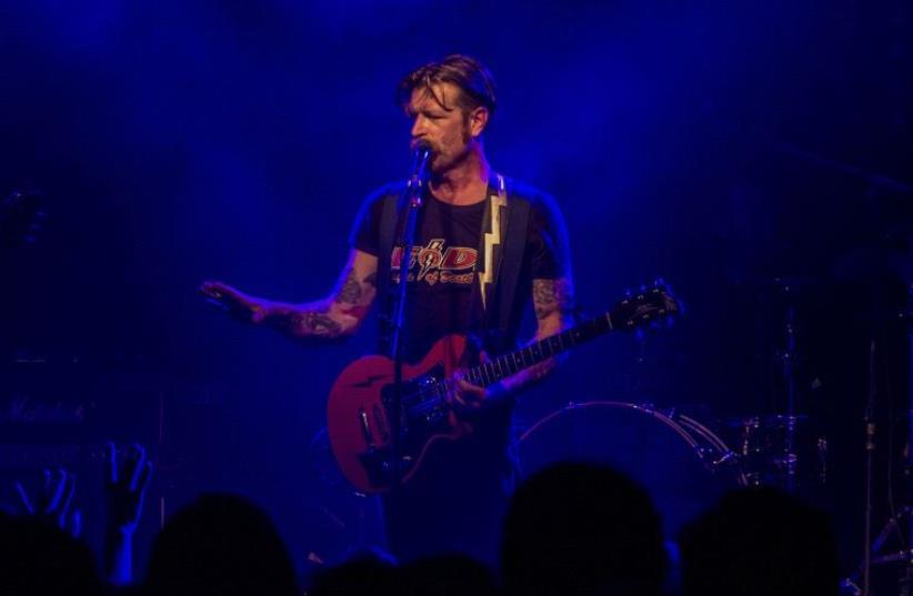 Eagles of Death Metal frontman Jesse Hughes. (photo credit: ROY DANIEL)