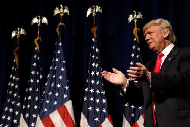 Republican presidential nominee Donald Trump. (photo credit: REUTERS)