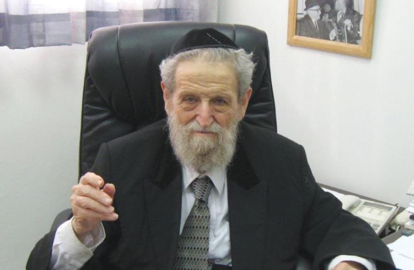 RABBI SHE'AR YASHUV COHEN in his Haifa office in 2012. (photo credit: LIAT COLLINS)