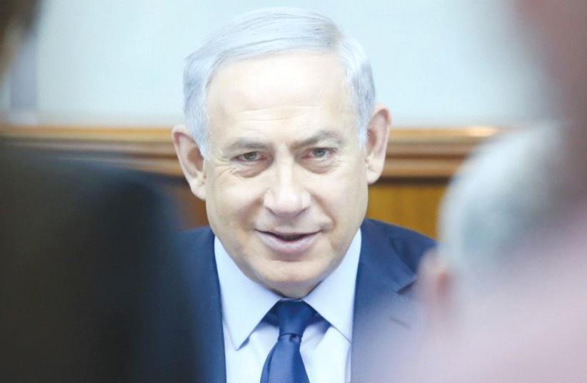 PRIME MINISTER Benjamin Netanyahu. Is he a victim of unfair press? (photo credit: MARC ISRAEL SELLEM/THE JERUSALEM POST)