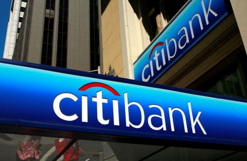 Citibank (photo credit: ROBERT GALBRAITH/REUTERS)