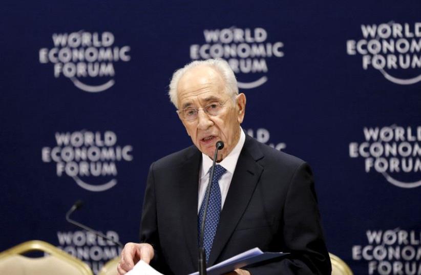 Shimon Peres (photo credit: REUTERS)