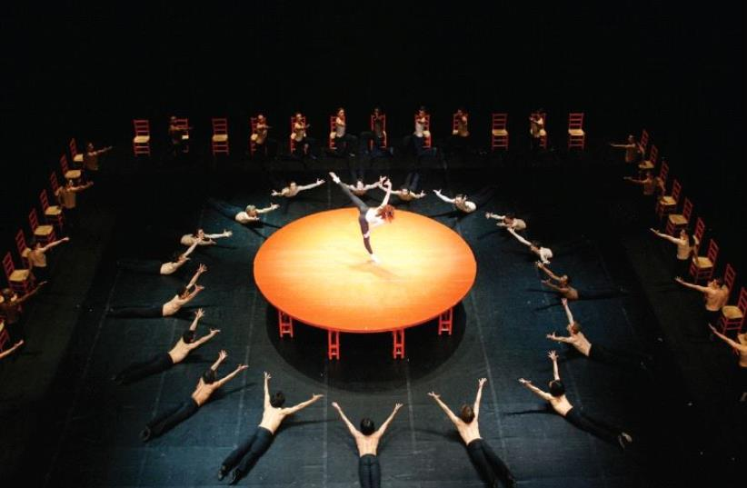 Béjart Ballet Lausanne (photo credit: ILLIA CHKOLNIK)