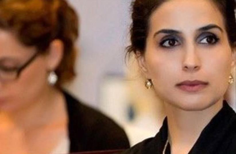 Leila Hatoum (photo credit: TWITTER)