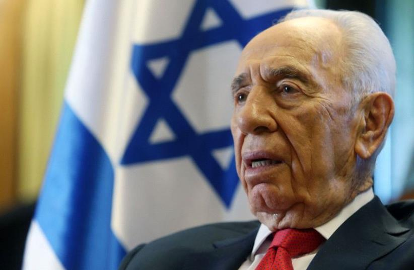 Shimon Peres (photo credit: MARC ISRAEL SELLEM/THE JERUSALEM POST)