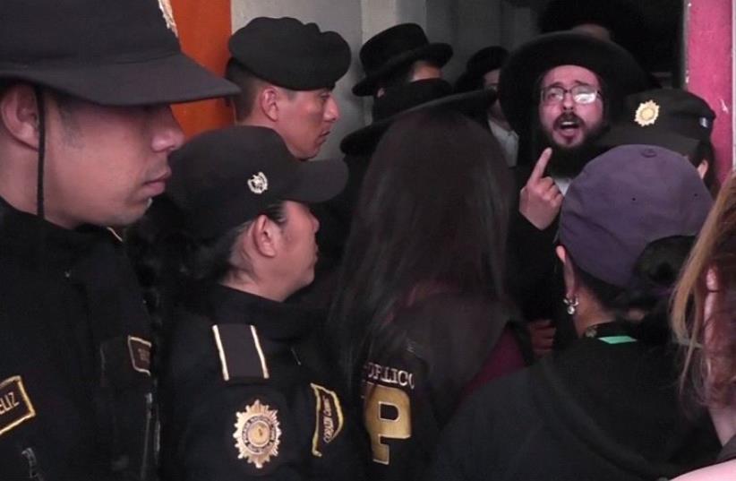 Ultra orthodox Jewish community under investigation for child abuse in Guatemala (photo credit: screenshot)