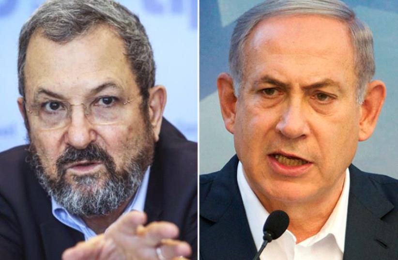 Netanyahu and Barak  (photo credit: MARC ISRAEL SELLEM & FACEBOOK,REUTERS)