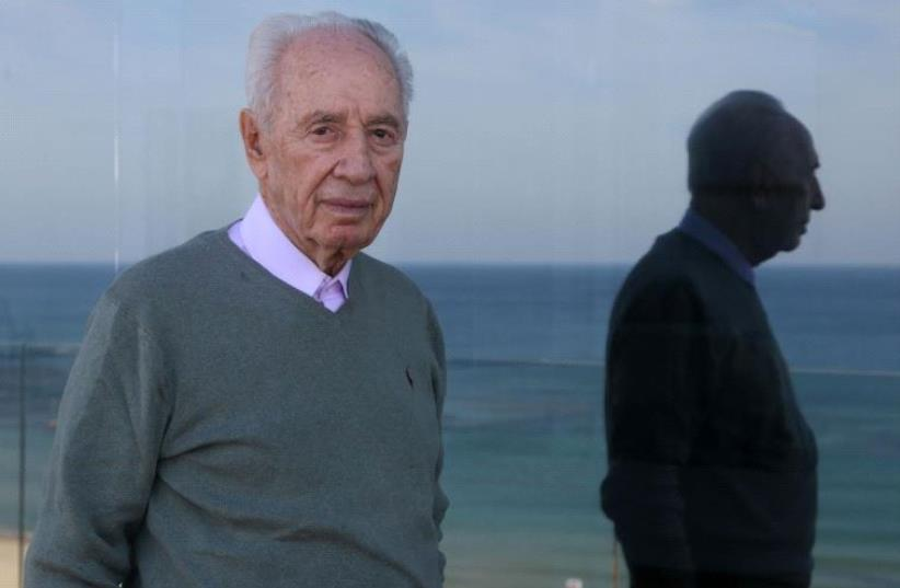 Shimon Peres (photo credit: MARC ISRAEL SELLEM)