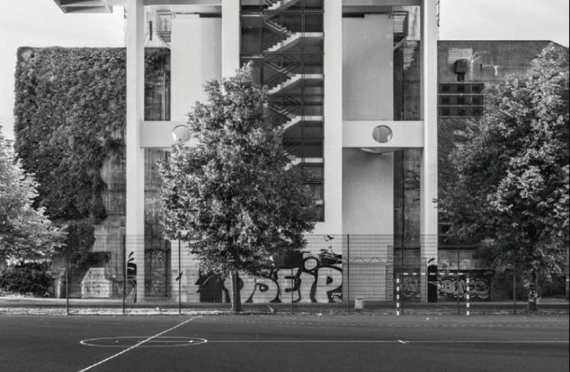 PALLASSEUM BUILDING complex in Berlin. (photo credit: ELI SINGALOVSKI)