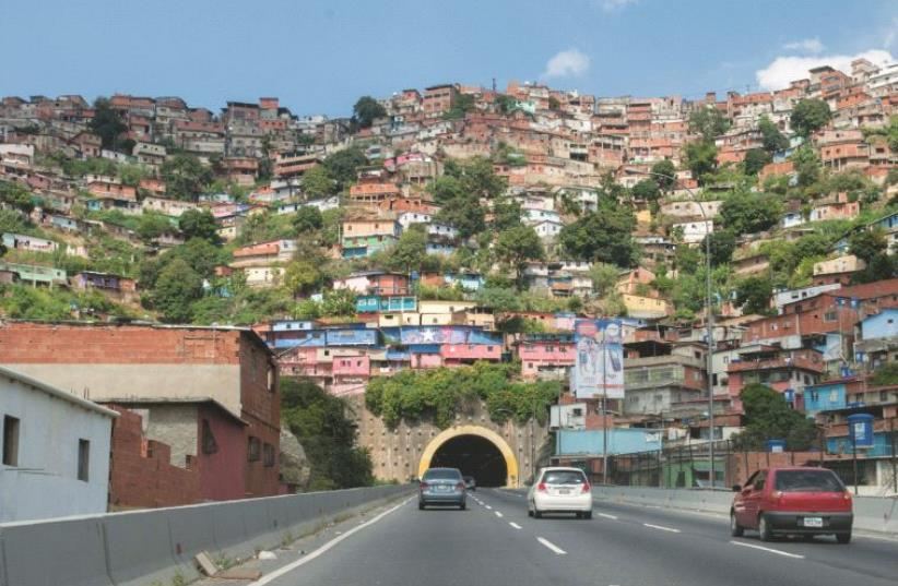 Des bidonvilles dans la capitale (photo credit: DR)