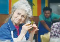 Lynn Cohen in a scene from 'The Pickle Recipe