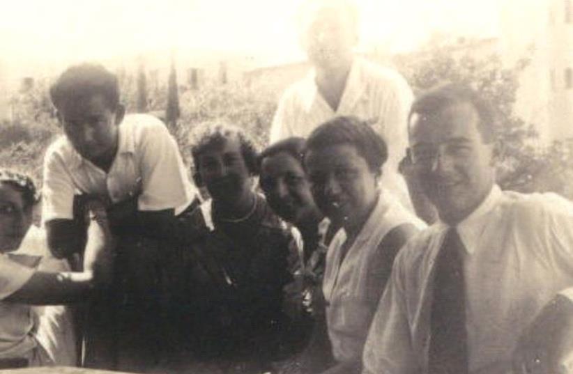 RAOUL WALLENBERG (right) first met German Jewish refugees in Haifa in 1936. (photo credit: IWAN DRUKKER)