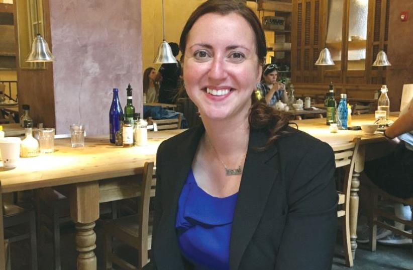 NEW YORK lawmaker Nily Rozic: 'Being Israeli brings meaning to the job.' (photo credit: Courtesy)