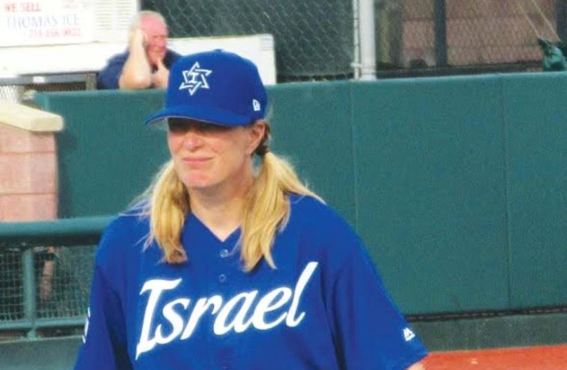 Mental coach Justine Siegal (photo credit: HOWARD BLAS)