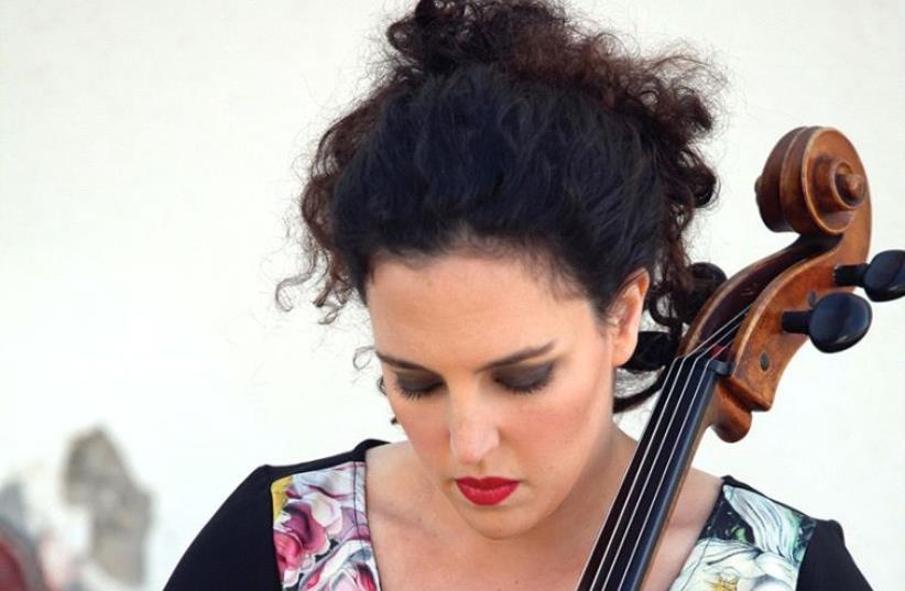 Maya Belzitzman performs at the Piyut Festival (photo credit: MAYA SHALEV)