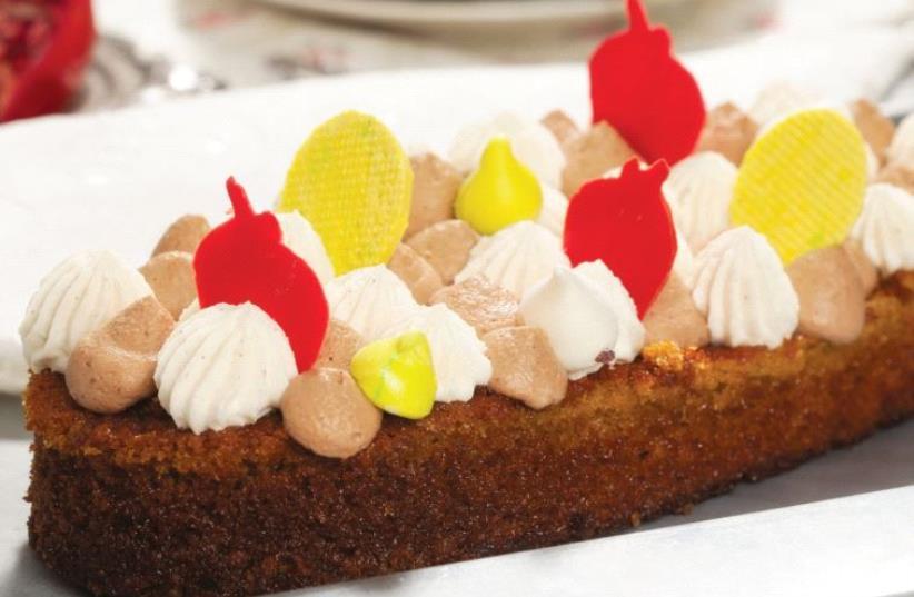Honey and chocolate cake (photo credit: GADI OHAD)