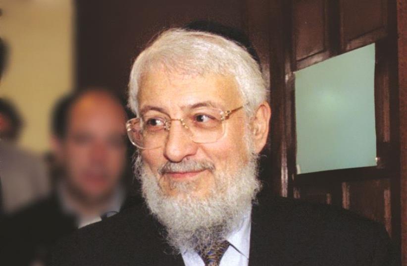 Le Grand Rabbin de France (photo credit: REUTERS)
