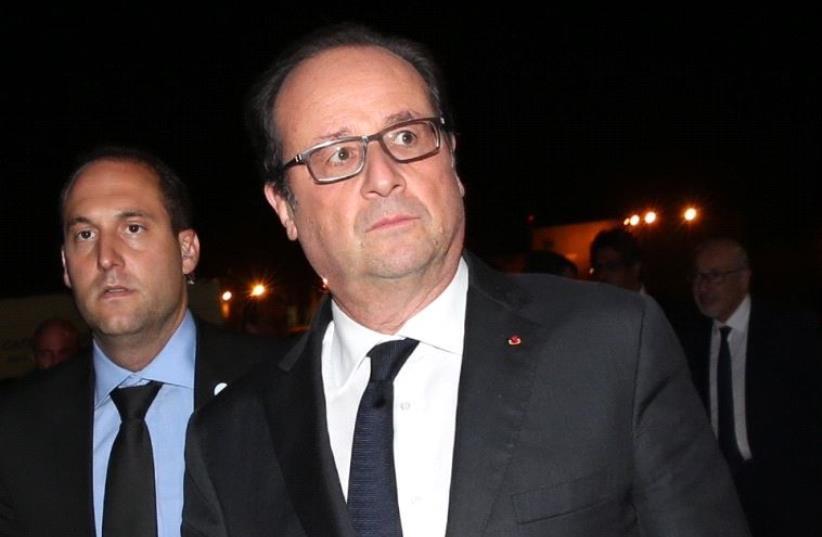 President of France Francois Hollande (photo credit: GPO)