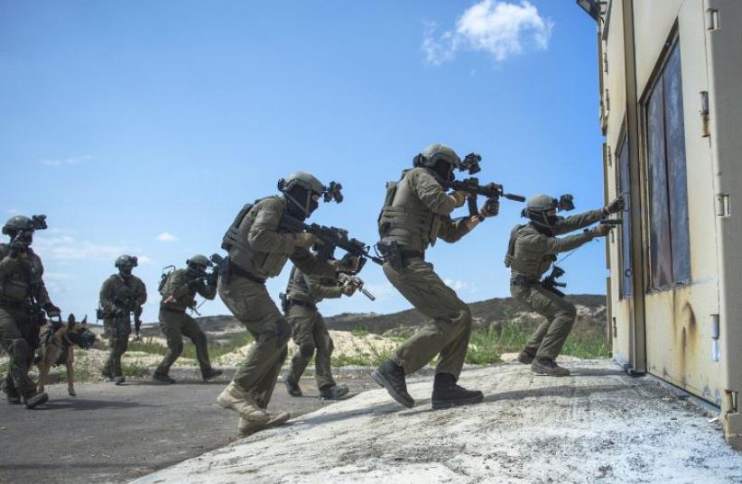 IDF elite unit training day (photo credit: IDF SPOKESMAN'S UNIT)