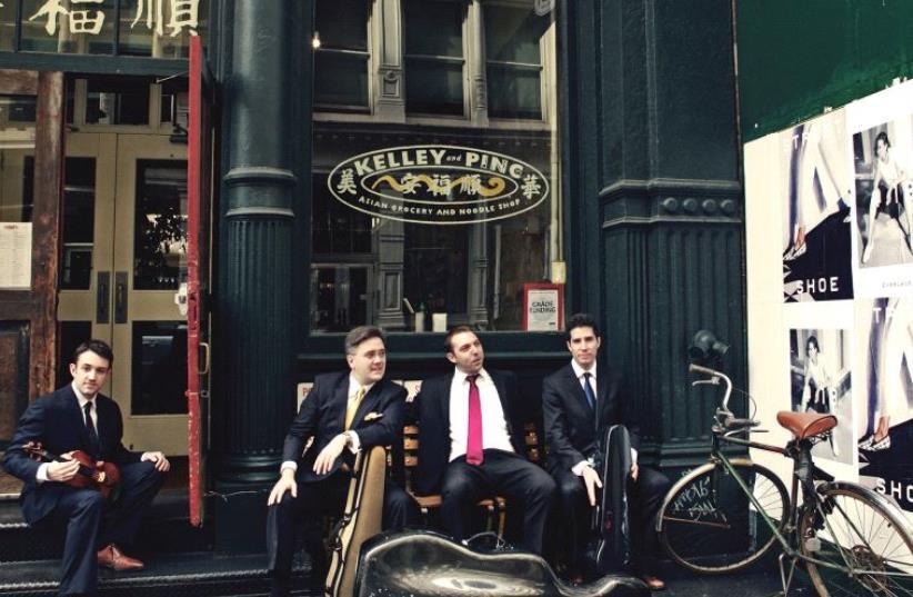The Escher Quartet (photo credit: PR)