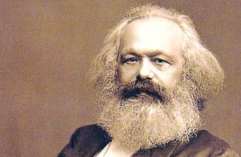 Karl Marx (photo credit: Wikimedia Commons)