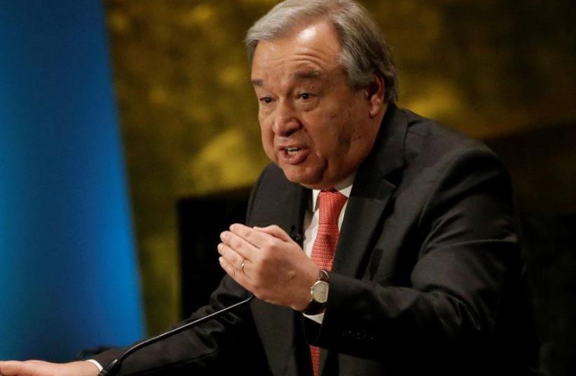 Antonio Guterres (photo credit: REUTERS)