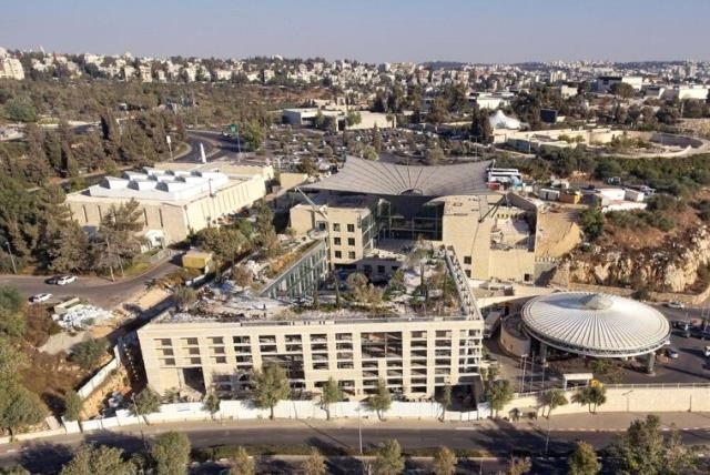 National Campus for the Archeology of Israel (photo credit: ARDON BAR-HAMA)
