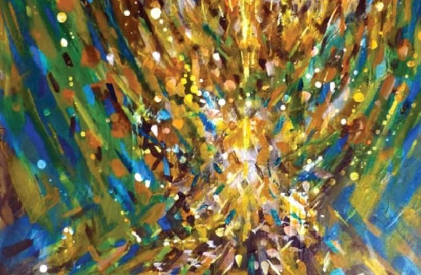 Painting 'Spread the Light' by Yoram Raanan (photo credit: YORAM RAANAN)