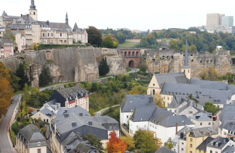 The city of Luxembourg. (photo credit: REUTERS)