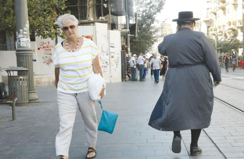 Jerusalem street (photo credit: MARC ISRAEL SELLEM)