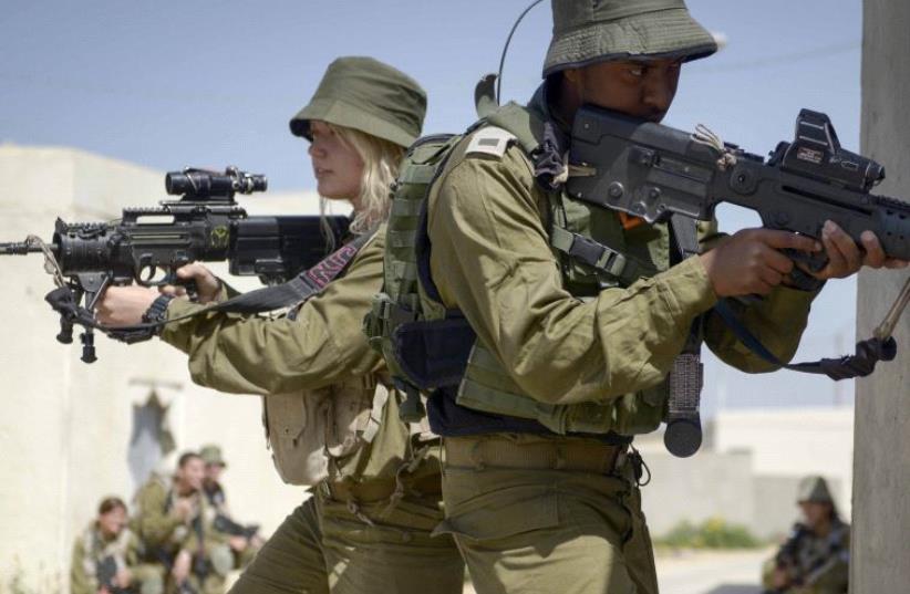 IDF Caracal Battalion  (photo credit: IDF)