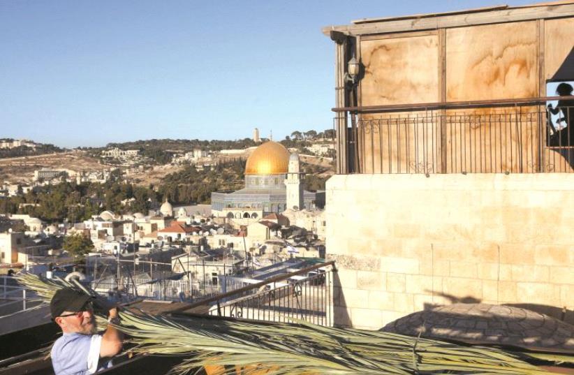 Unité du peuple juif et universalisme : deux messages de la fête de Souccot (photo credit: MARC ISRAEL SELLEM)