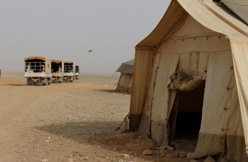 Rakban refugee camp [file] (photo credit: REUTERS)