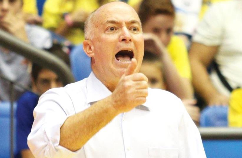 The speed with which Maccabi Tel Aviv coach Erez Edelstein adapts to Euroleague play will be crucial to the team's chances of success this season. (photo credit: ADI AVISHAI)